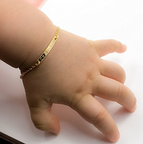 Name Engraved Bangles for baby