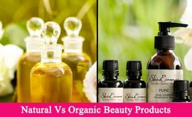 Natural Vs Organic Products