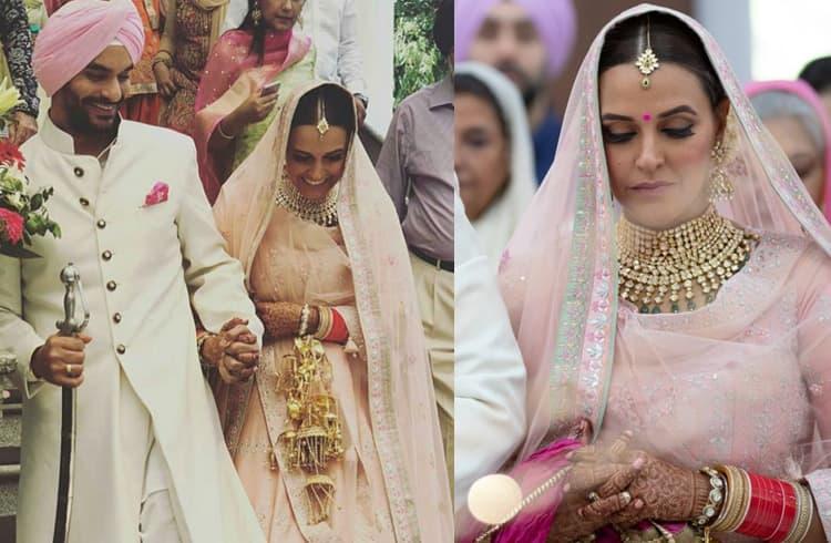 Neha Dhupia Wedding Photos