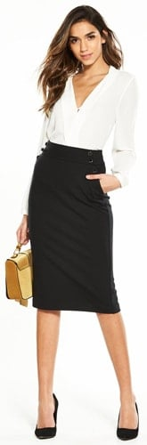 Pencil Skirt Fashion to meet his parents