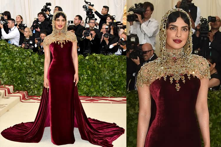 Priyanka Chopra Fashion in Met Gala Event