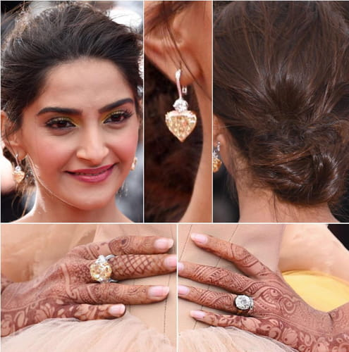 Sonam Kapoor Accessories At Cannes