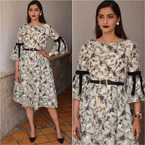Sonam Kapoor Promotional Style