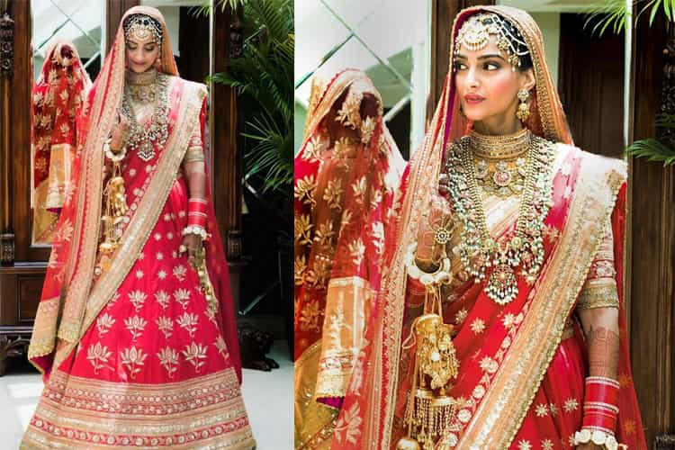 Image result for Sonam Kapoor wedding dress
