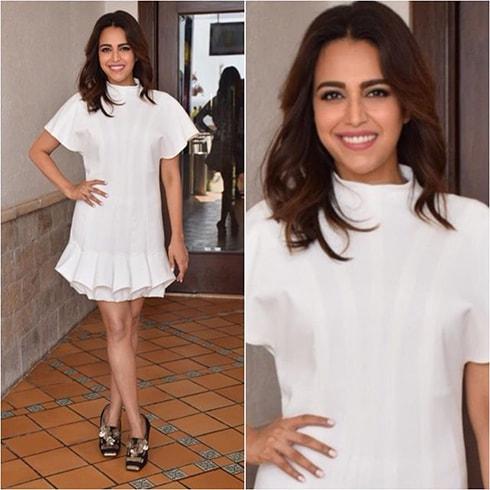 Swara Bhaskar Promotional Style