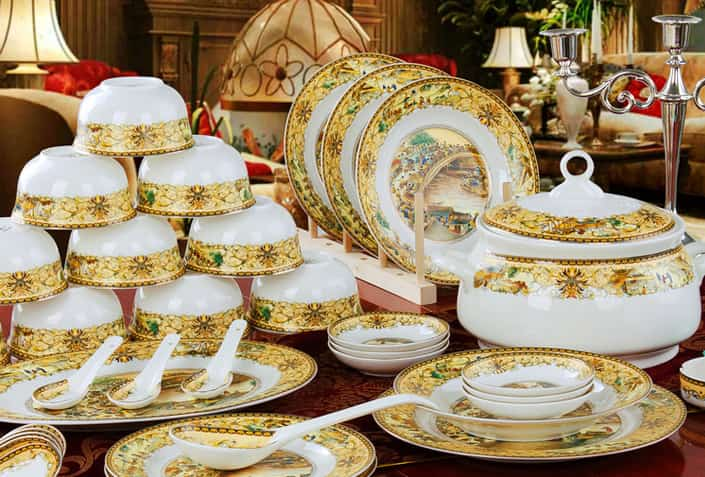 Vintage dinner set for mother's day