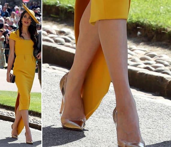 Amal Clooney Heels