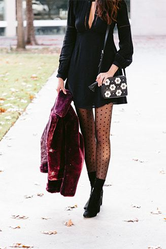 Booties With Tights