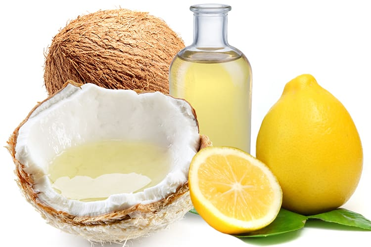 Lemon Juice And Coconut Oil for Hair