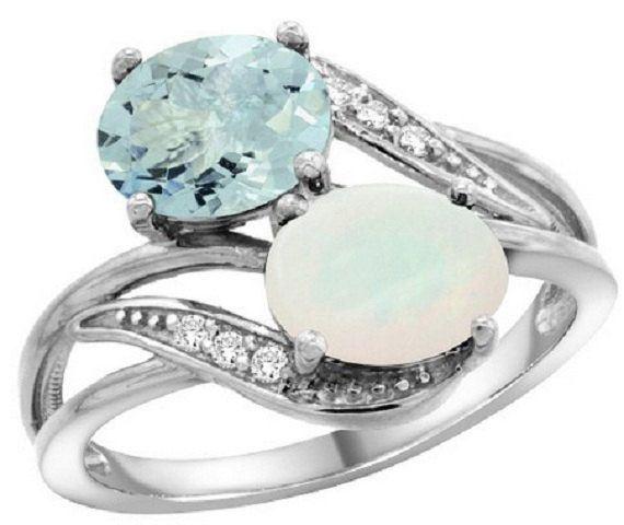 Engagement Ring 2 Stones
