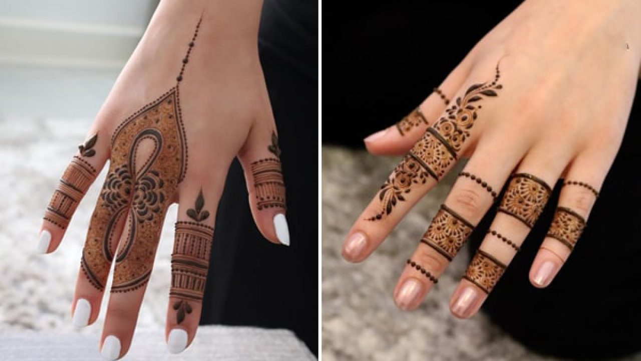 Tasmim Blog Simple Mehndi Ka Design Back Side