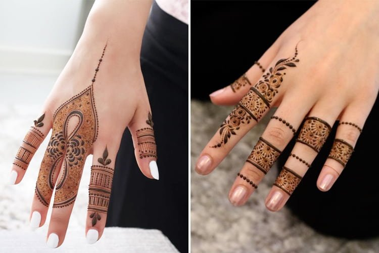 9 Finger Mehndi Designs To Dazzle You