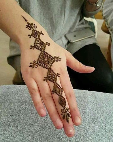 Finger Mehndi for Beginners