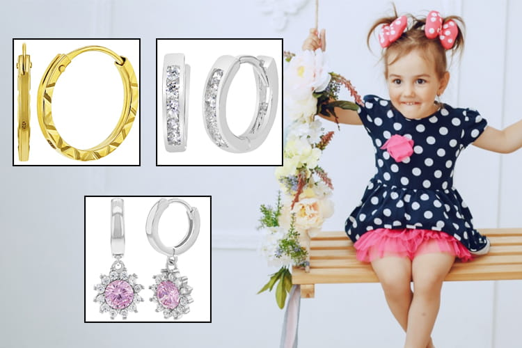 Kids Hoop Earrings