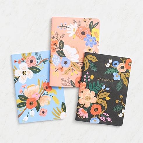 Lively Floral Journals