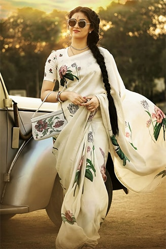 Mahanati Neck Blouse