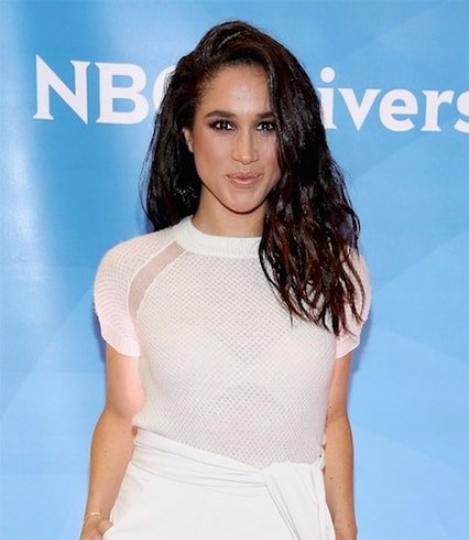 Meghan Markle Beach Waves Hair