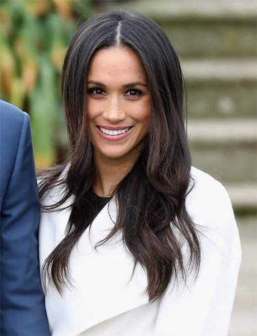 Meghan Markle Engagement Hairstyle