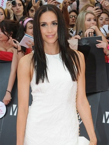 Meghan Markle Straight Hair