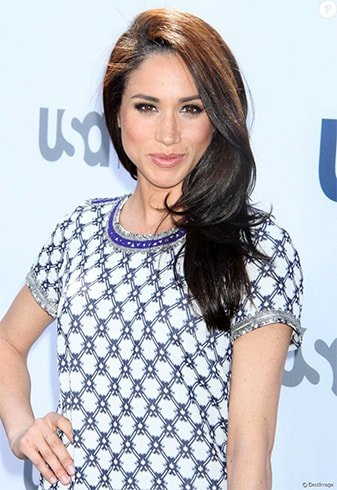 Meghan Markle Straight Hairstyle