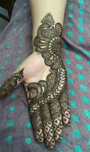 old tikki designs Mehndi Designs