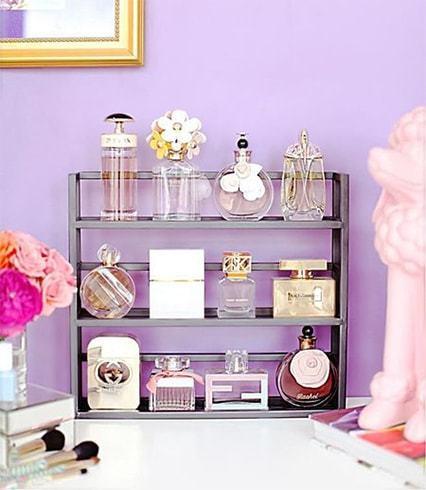 Perfume Bottles Rack