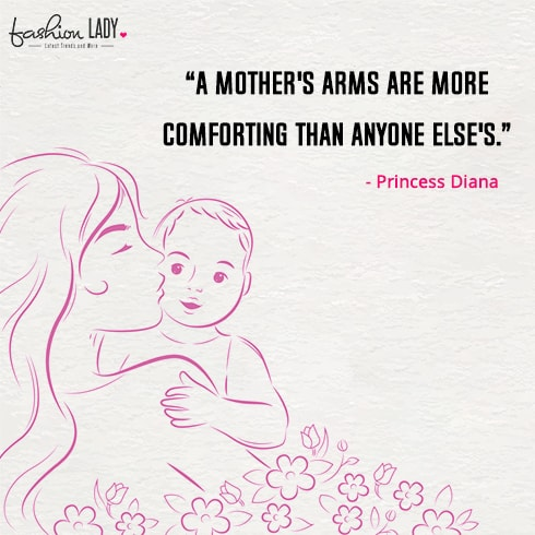 Princess Diana Mother Quote