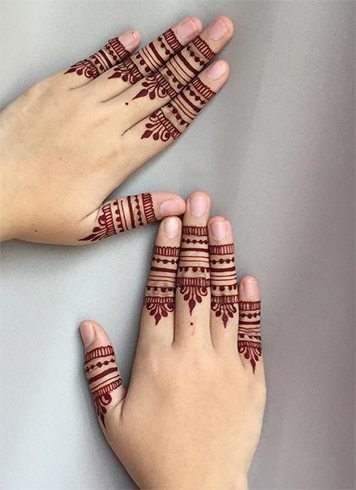 Red Color Henna