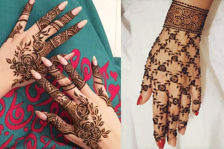 Mehndi Designs Rose : Top rose mehndi designs to be the cynosure of all eyes!