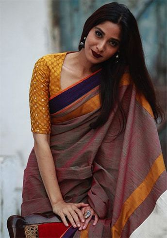 Simple Blouse Designs For Cotton Sarees