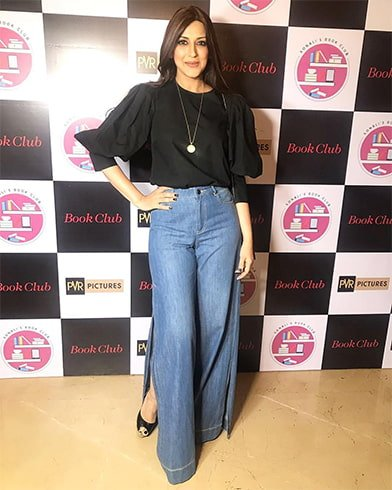 Sonali Bendre at Book Club Premiere