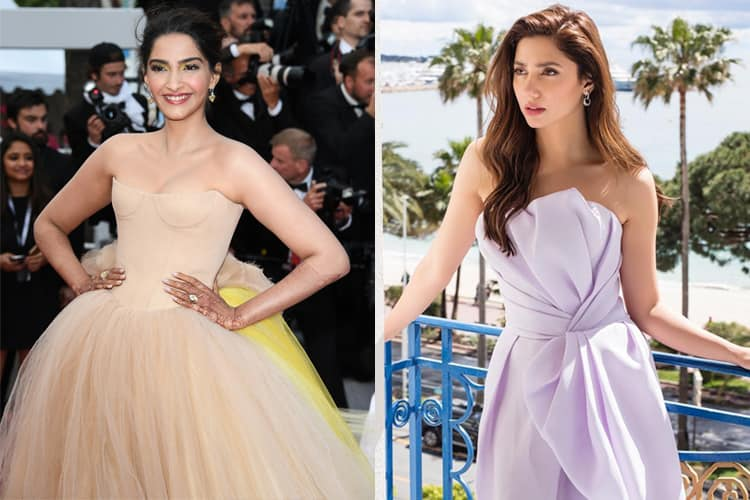 Sonam Kapoor and Mahira Khan At Cannes 2018