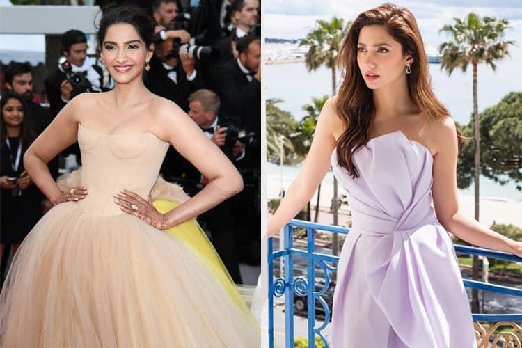 Sonam Kapoor and Mahira Khan At Cannes 2018