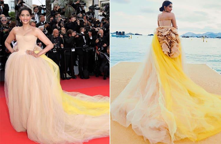 Sonam Kapoor at Cannes 2018