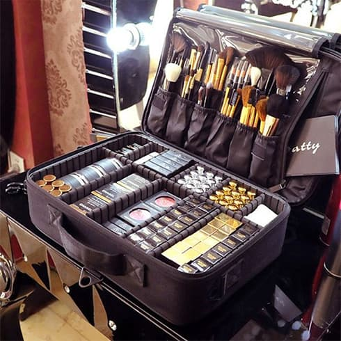 Suitcase Makeup Storage-organizer