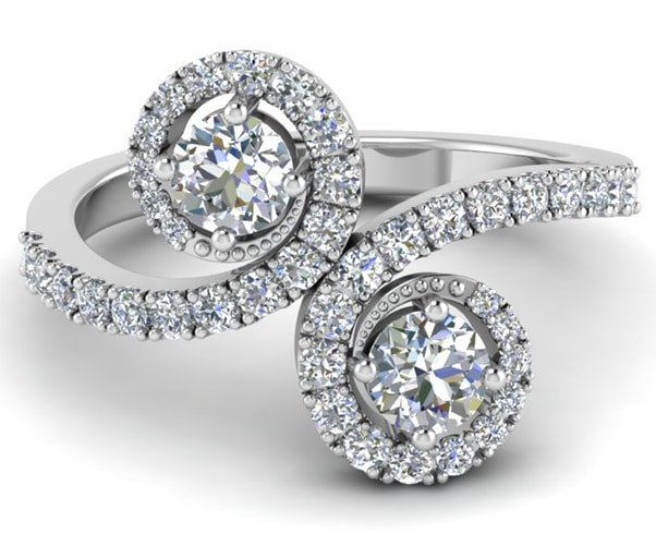Two Stone Ring Designs