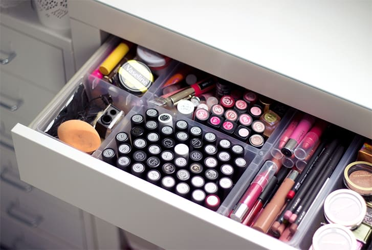 Ways To Store Makeup