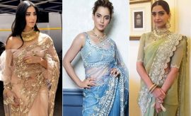 Actresses In Sarees