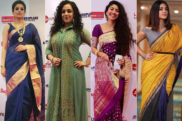 Actresses at Jio Filmfare Awards 2018