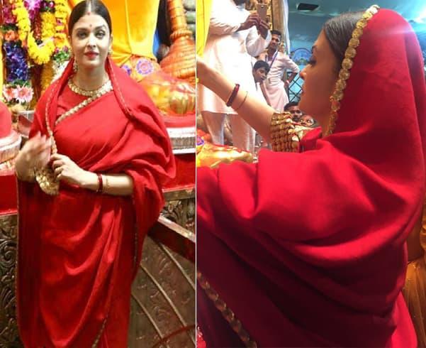 Aishwarya Rai Saree Style
