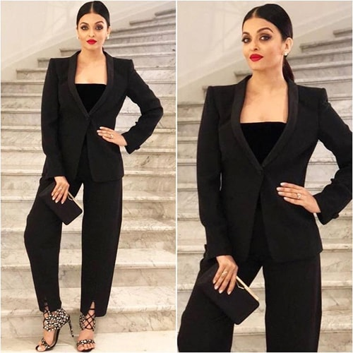 Aishwarya Rai in stylist Aastha Sharma fashion