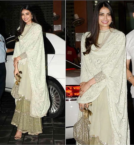 Athiya Shetty at Eid celebrations