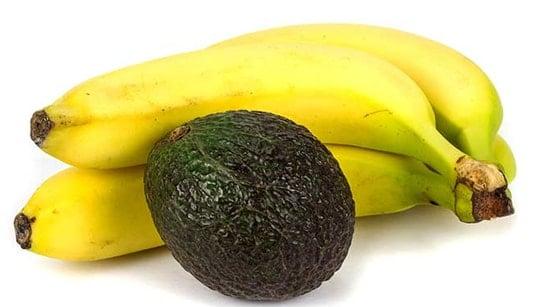 Banana-Avocado Hair Pack