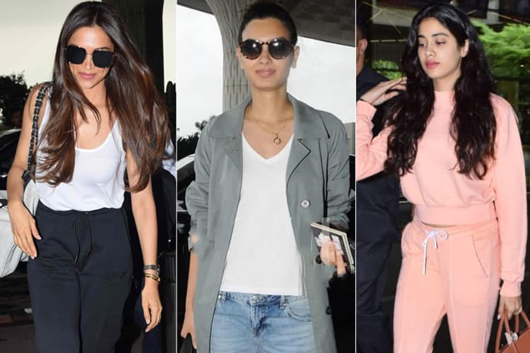 Bollywood Celebs Airport Fashion