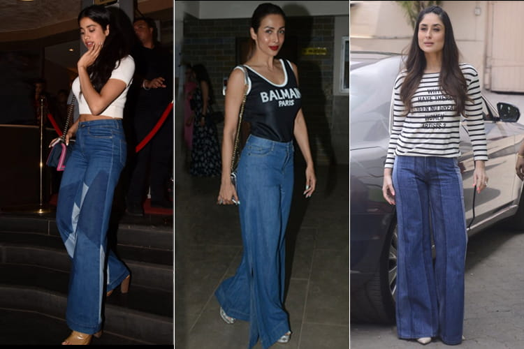Bollywood Flared Lounge Denims