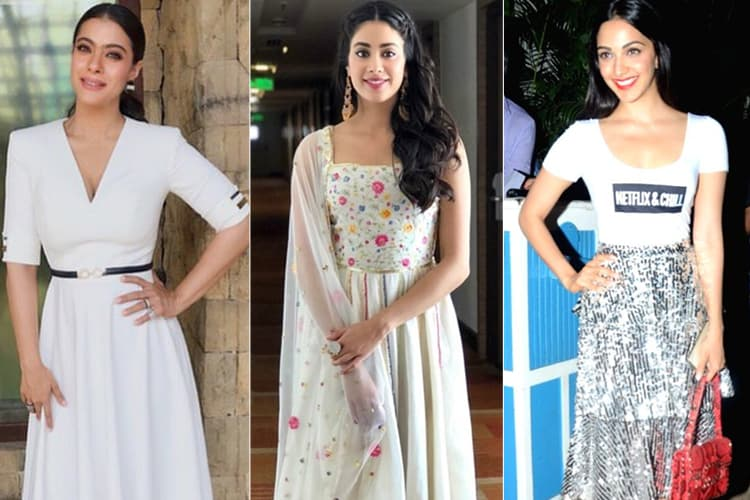 Bollywood in White Outfits