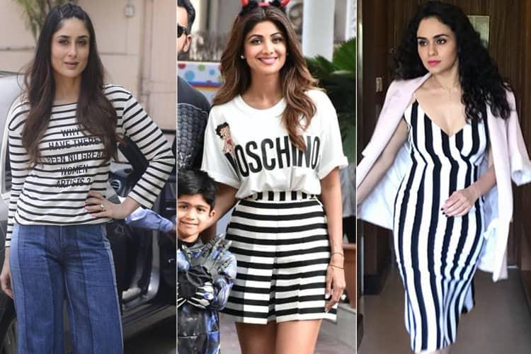 Bollywood Stripes Fashion