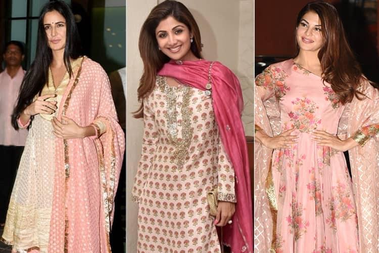 Celebrites at Eid Celebrations