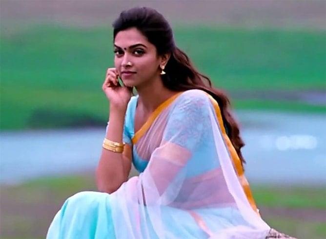 The Gorgeous Deepika Padukone In Saree