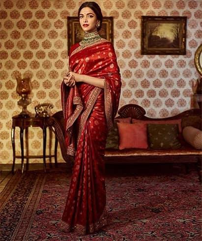 Deepika Padukone Designer Saree